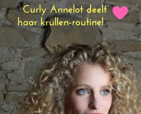 curly deelt haar curly haarroutine